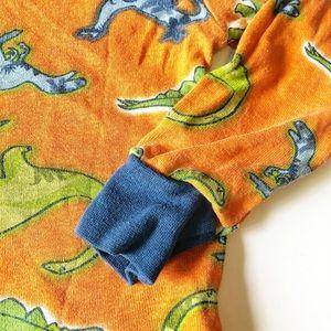 Kirkland Signature Pajamas - KIRKLAND 3T ORANGE DINOSAUR LONG SLEEVE PAJAMA